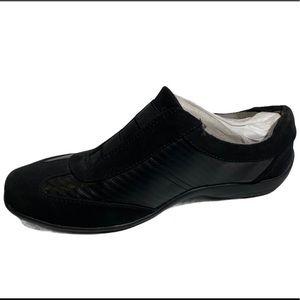 Life Stride Women's Black Slip On Sneakers Size 8W